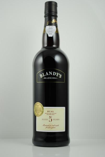 Madeira BUAL 5 years, Blandy's